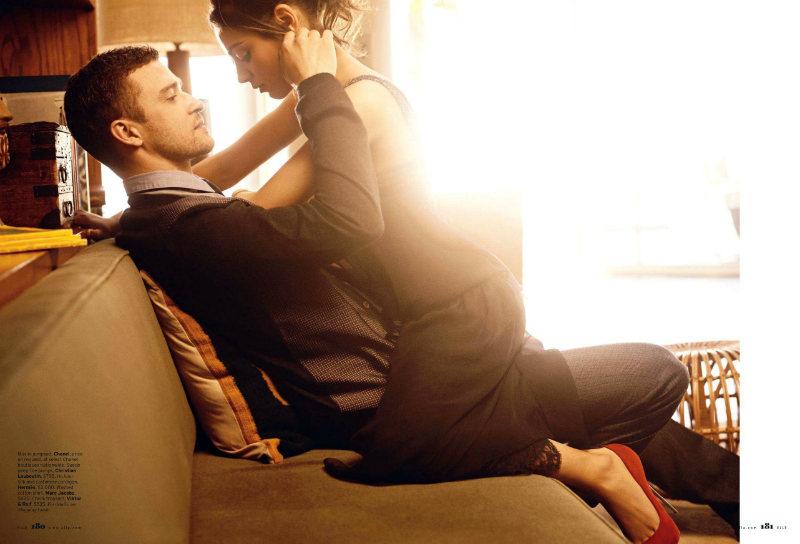 justintimberlake5 Mila Kunis by Carter Smith for <em>Elle US</em> August 2011