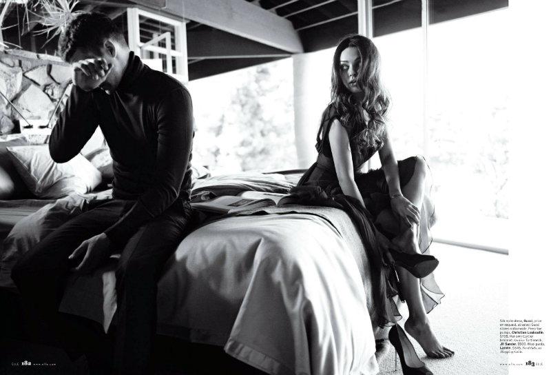 justintimberlake6 Mila Kunis by Carter Smith for <em>Elle US</em> August 2011