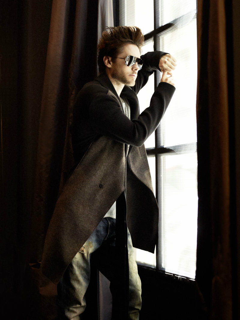 outtakes3 Jared Leto by Aline & Jacqueline Tappia for <em>Blast</em> Magazine