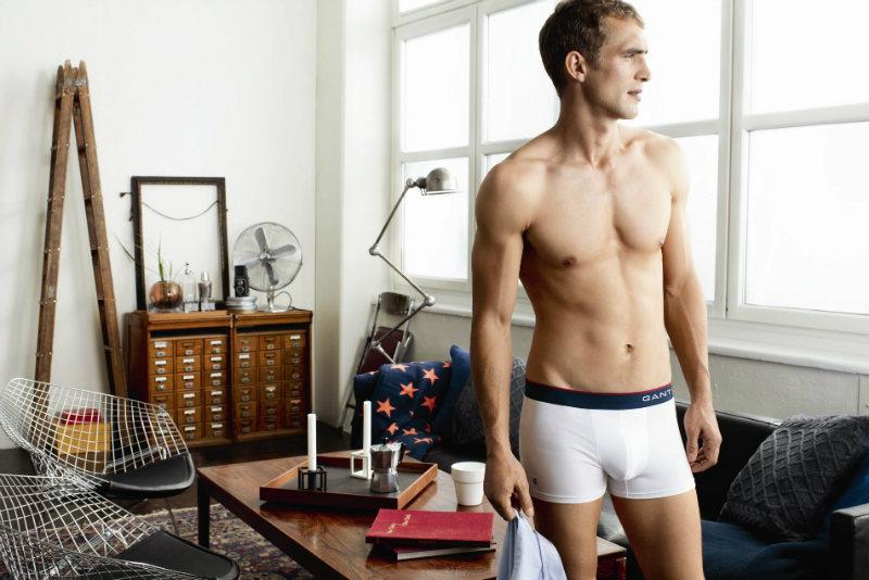willchalker2 Will Chalker for Gant Fall 2011 Underwear Campaign