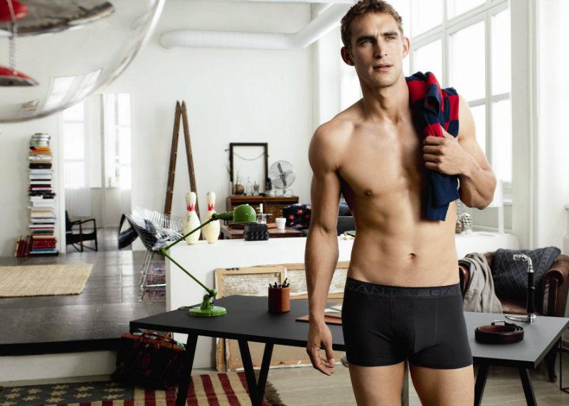 willchalker3 Will Chalker for Gant Fall 2011 Underwear Campaign