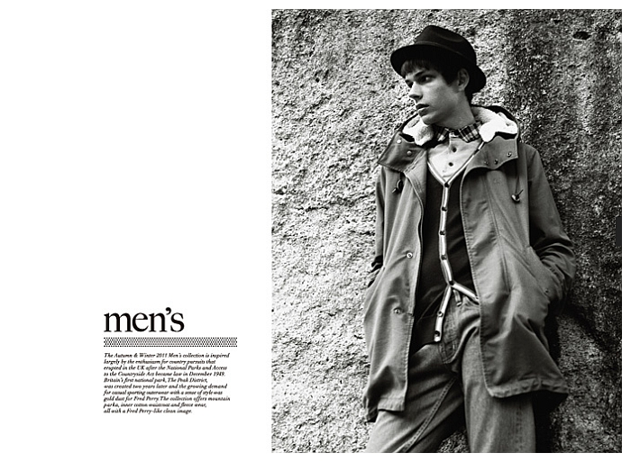 ejames fp1 Ethan James for Fred Perry Japan Fall 2011