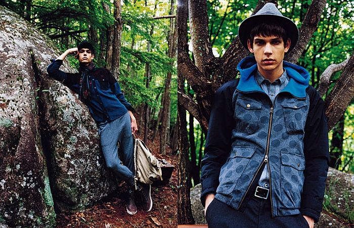 ejames fp3 Ethan James for Fred Perry Japan Fall 2011