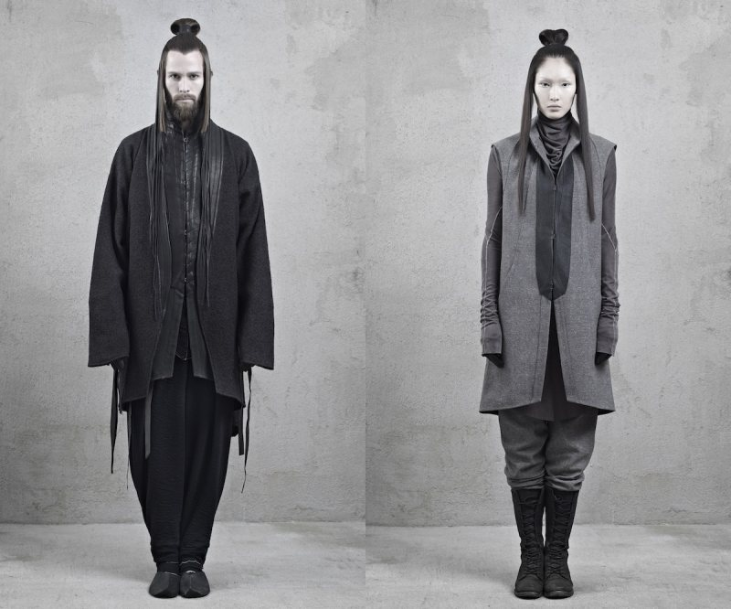 inaiscecollection1 Xi Sinsong for InAisce Fall/Winter 2012