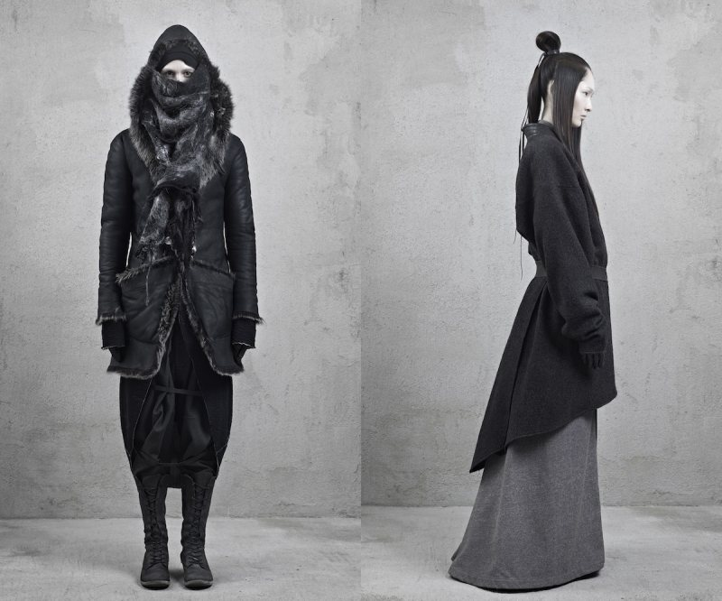 inaiscecollection4 Xi Sinsong for InAisce Fall/Winter 2012