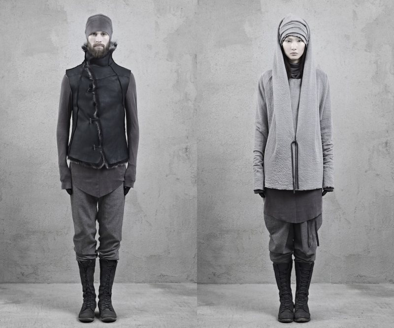 inaiscecollection9 Xi Sinsong for InAisce Fall/Winter 2012