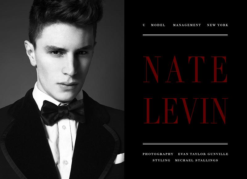 Portrait Nate Levin by Evan Taylor Gunville joel evan tye