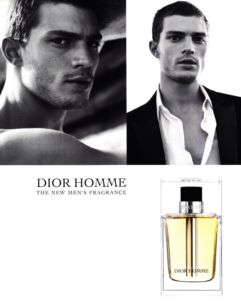 diorjamie Jamie Dornan for Dior Homme Fragrance Campaign