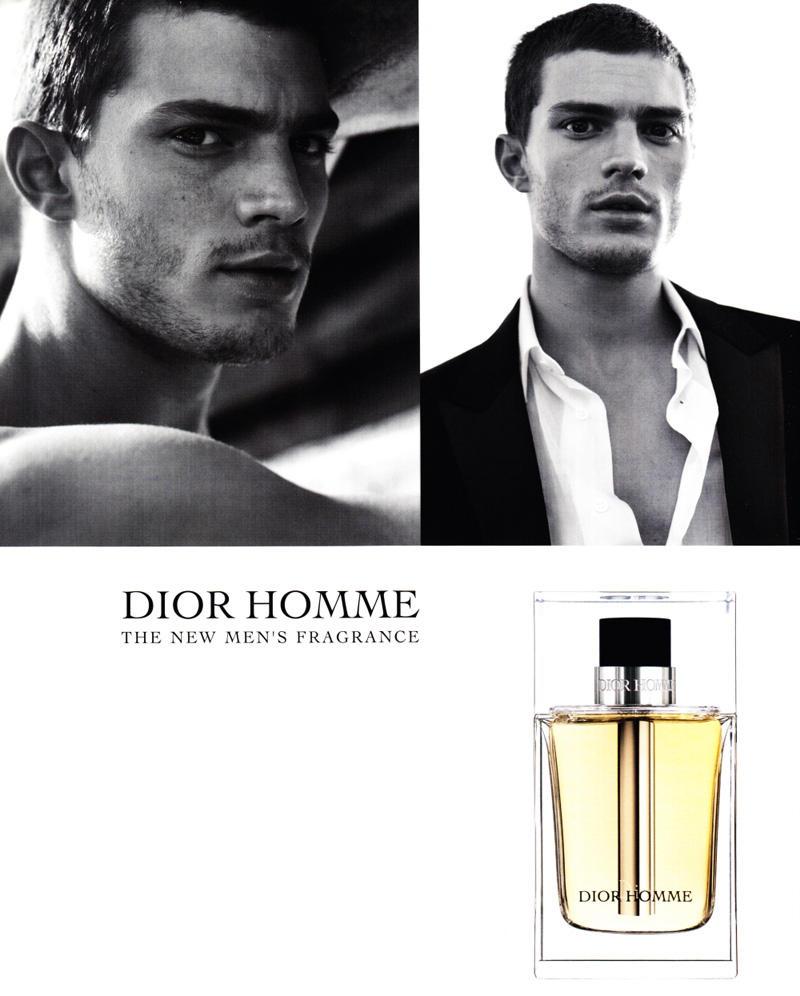 diorjamie Jamie Dornan for Dior Homme Fragrance Campaign
