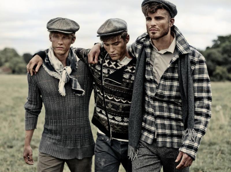 farandaway10 Oliver Cheshire, Chris Doe & Ashley Radford by Charl Marais for <em>7th Man</em>