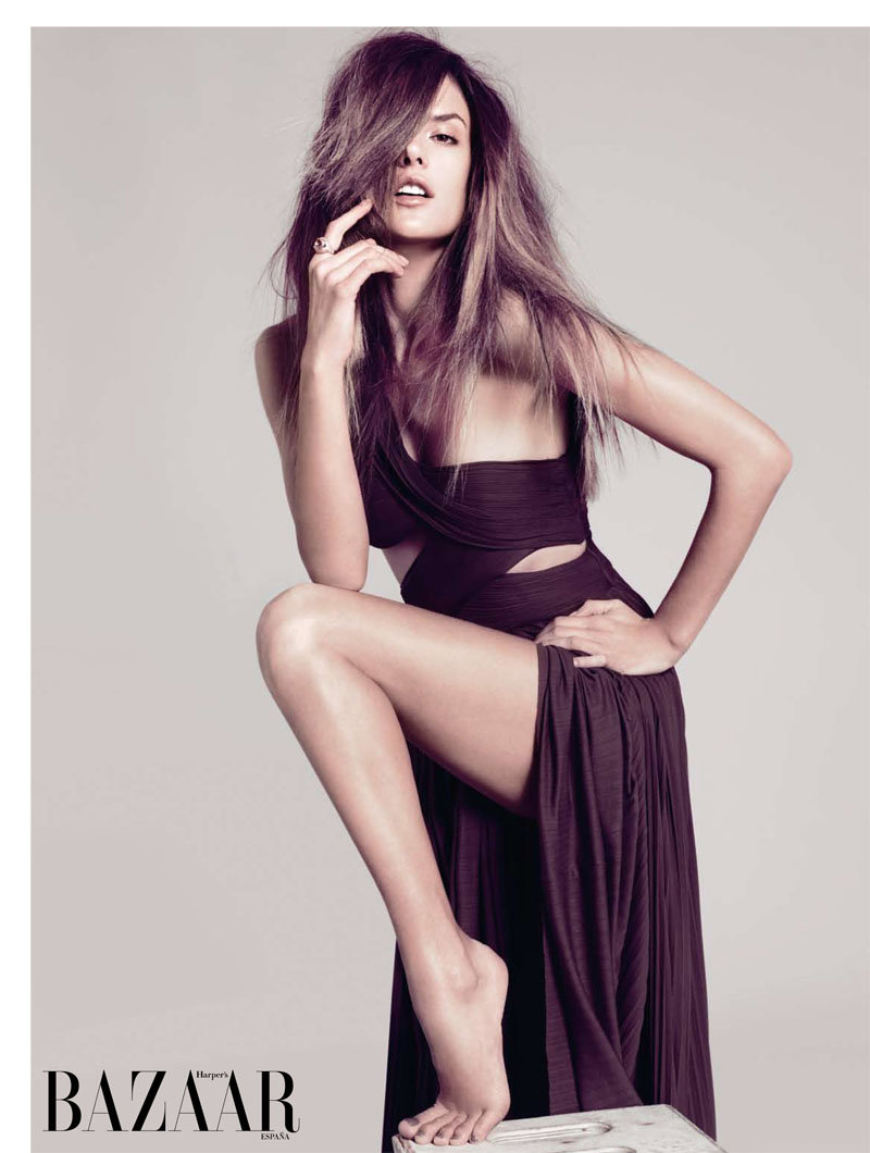 alessandra ambrosio11 Alessandra Ambrosio for <em>Harpers Bazaar Spain</em> February 2011 by Nico