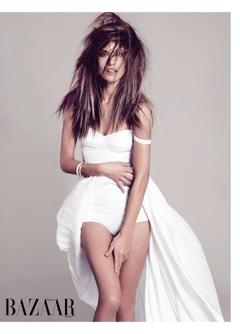 alessandra ambrosio3 Alessandra Ambrosio for <em>Harpers Bazaar Spain</em> February 2011 by Nico