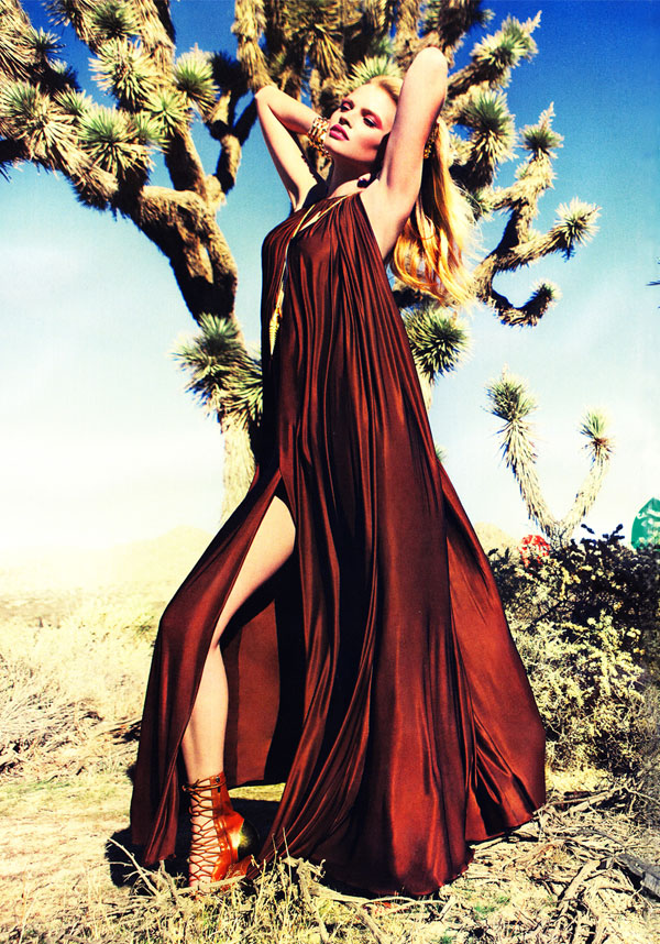 lara stone Lara Stone for <em>Vogue China</em> March 2011 by Inez & Vinoodh