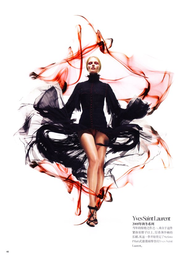 edita vilkeviciute Edita Vilkeviciute by Sølve Sundsbø for <em>Vogue China</em> Collections S/S 2011