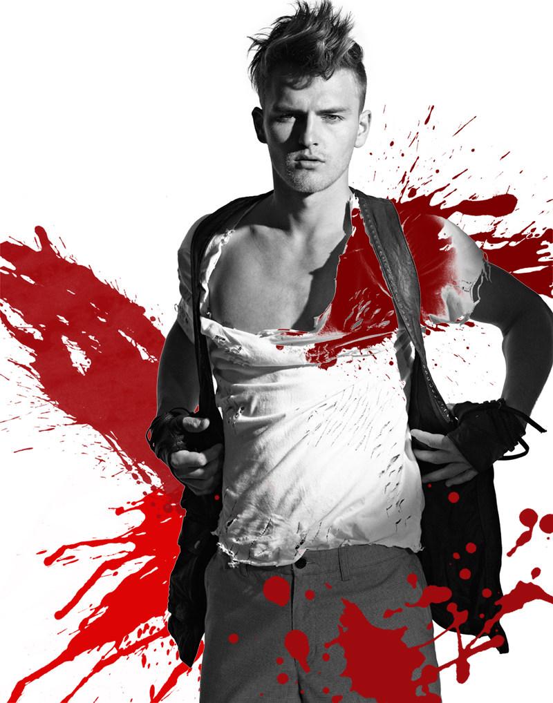 armenta3 Dylan Griner, Frank Mentier & Yevgeny by Sean Armenta for <em>Fashionisto Exclusive</em>