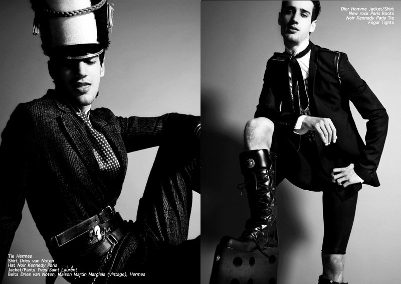 augustion3 Augustino in <em>The Legend of the Augustion Story</em> by Didier & Angelo for <em>Fashionisto Exclusive</em>