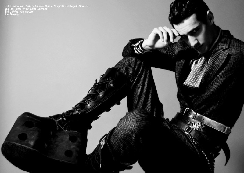 augustion5 Augustino in <em>The Legend of the Augustion Story</em> by Didier & Angelo for <em>Fashionisto Exclusive</em>