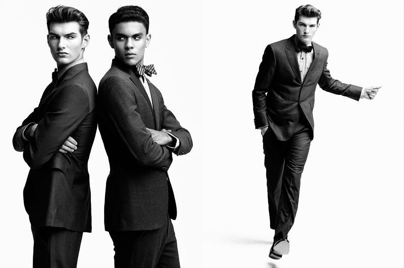 headliners6 9 Brandon Gray, Colten Scott, Justin Pinos & Devin Grant in <em>Headliners</em> by Richard Pier Petit for <em>Fashionisto Exclusive</em>