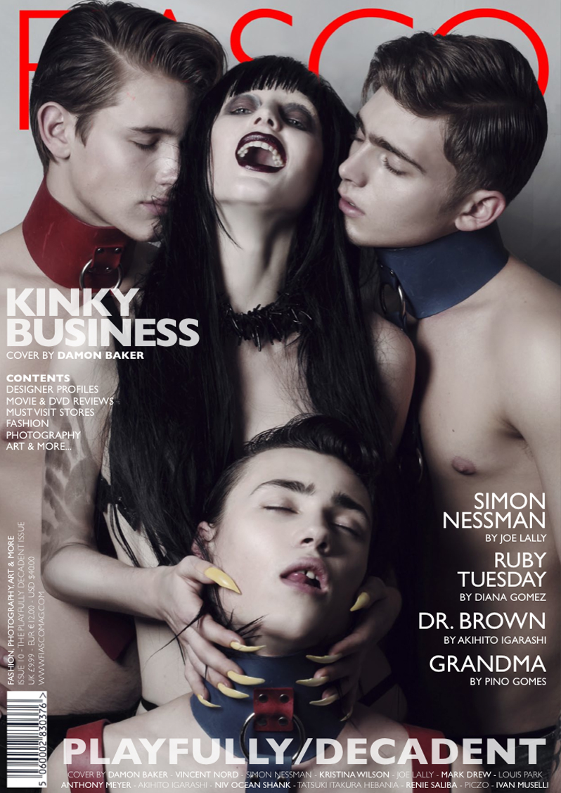 Callum Wilson, Paddy Mitchell & Tom Lander by Damon Baker for <em>Fiasco</em> Magazine