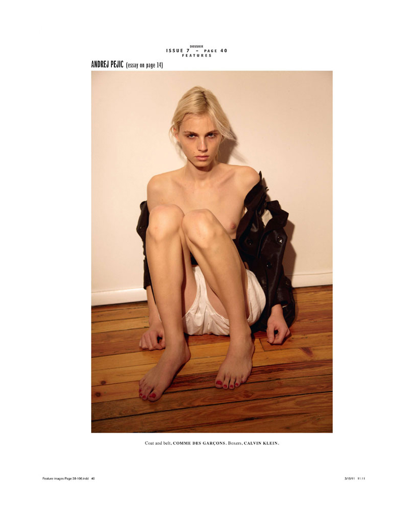 1 Andrej Pejic by Collier Schorr for <em>Dossier</em>