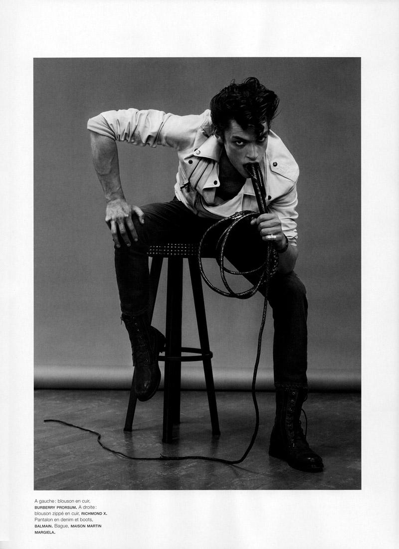 3 Nick Rae by Jean Baptiste Mondino for <em>Numéro Homme</em>