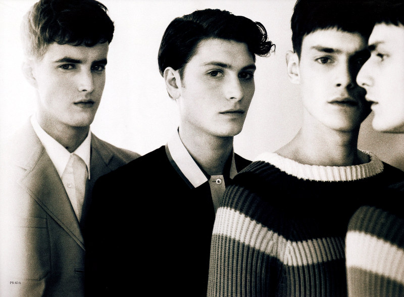 Glass1 Charlie France, Douglas Neitzke, James Smith & Joe Sanders by Neil Kirk for <em>Glass</em> Magazine