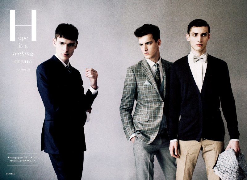 Glass2 Charlie France, Douglas Neitzke, James Smith & Joe Sanders by Neil Kirk for <em>Glass</em> Magazine