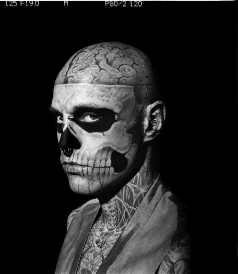ricoalinegq2 Rick Genest by Aline & Jacqueline for <em>GQ Italia</em> Outtakes