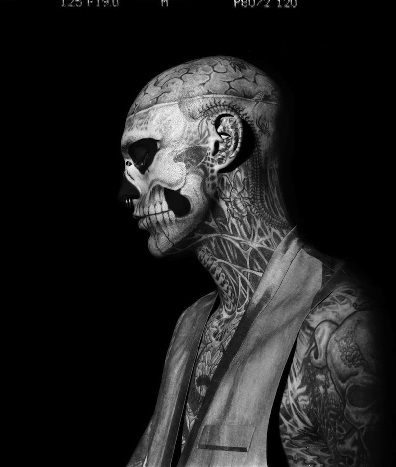 ricoalinegq4 Rick Genest by Aline & Jacqueline for <em>GQ Italia</em> Outtakes