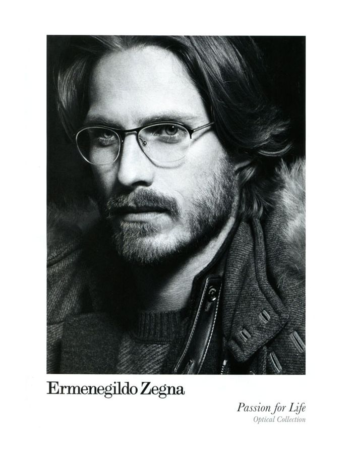 Ryan Burns for Ermenegildo Zegna Fall 2011 Campaign