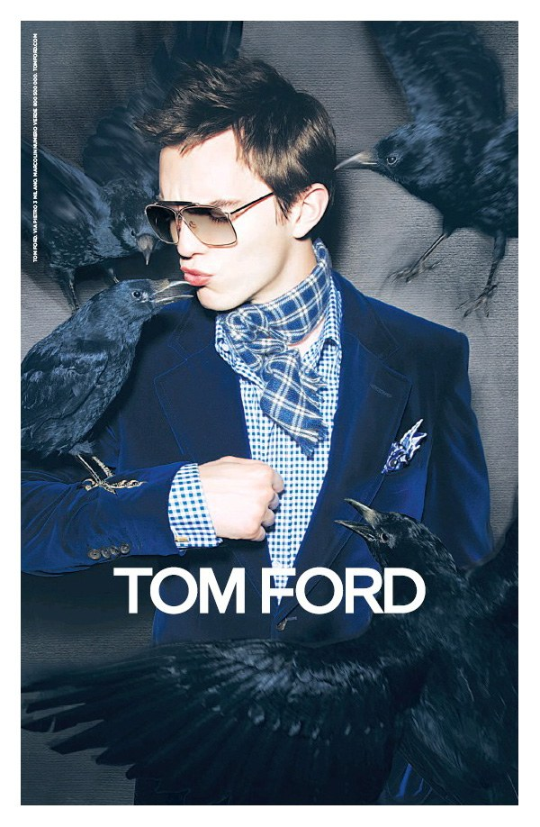 nicholasfortf Nicholas Hoult for Tom Ford Fall 2010 Campaign
