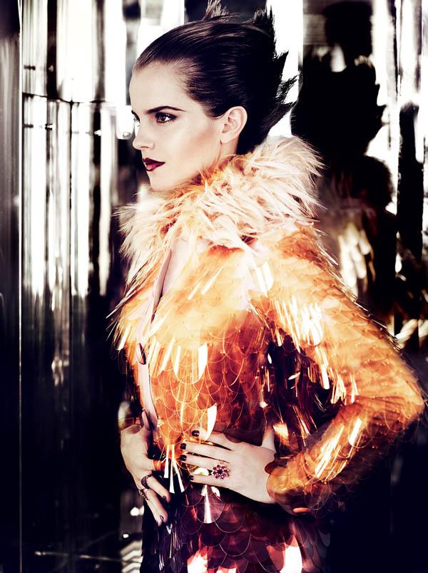 emma watson vogue us july. Emma Watson for Vogue US July