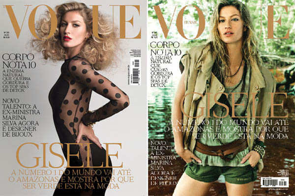 giselecover Gisele Bundchen Covers <em>Vogue Brazils</em> July 2011 Issue