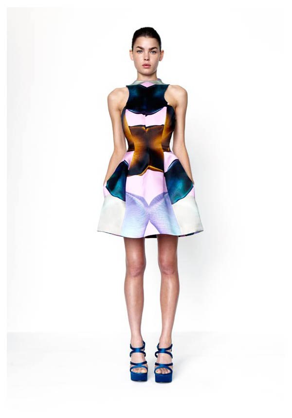 goot Bambi Northwood Blyth for Josh Goot S/S 2011 Collection