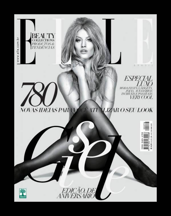 giselecover <em>Elle Brazil</em> May 2011 Cover | Gisele Bundchen by Nino Muñoz