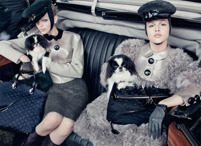 lv1 Louis Vuitton Fall 2011 Campaign by Steven Meisel (Preview)