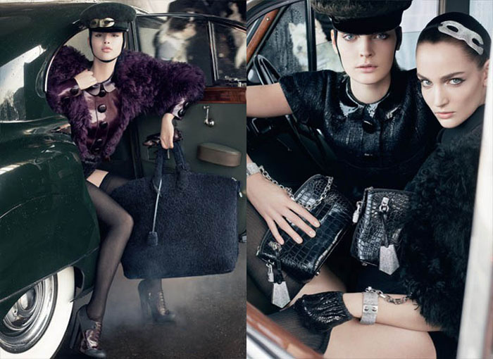 lv2 Louis Vuitton Fall 2011 Campaign by Steven Meisel (Preview)